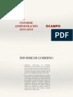 Proyecto Informe OCAMPO