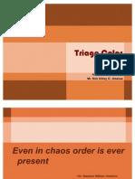 Triage Color Coding