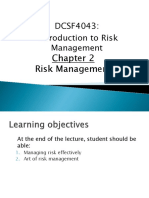 Chapter 2 - Risk Management