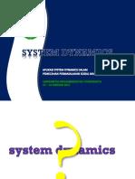 Materi II System Dynamics