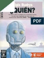 Quién - Algis Budrys