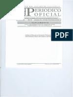 Periodico Oficial Codigo de Etica