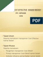 Cost Effective Kamar Bedah - Baru 2016