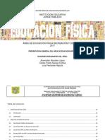 Proyecto Pedagógico de Educación Física Recreación y Deportes 2017 i.e. Jorge Robledo