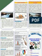Triptico Hidraulica Energia Electrica Peru