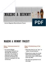 mummification project