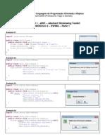 Exemplos de JOptionPane