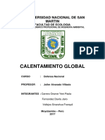 Defensa Nacional Del Calentamiento Global