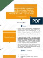 Análisis Económico Financiero Subsidio RED CUIDO