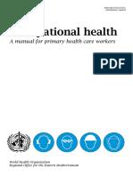 Occupational Health / K3