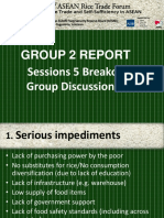 Session 5 Group 2 Report