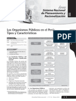 Los organismos públicos en el Perú