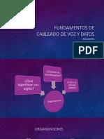 Fundamentos de Cableado de Voz y Datos