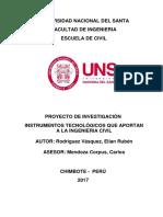 Instrumentos Tecnológicos que Aportan en la Ingeniería Civil