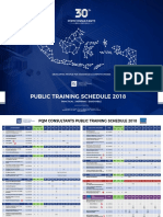 Jadwal Public Training 2018 R3