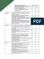 Checklist ECA