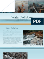 Water Pollution & It's Effects