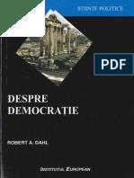 Robert a. Dahl - Despre Democratie