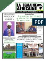 la semaine africaine n°3754