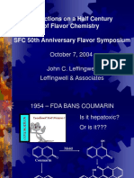 50 Years of Flavor Chemistry