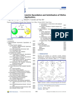 Organocatalytic Asymmetric Epoxidation and Aziridination of Olefins and Their Synthetic Applications
