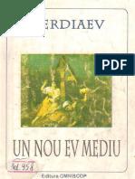 Nikolai Berdiaev_Un Nou Ev Mediu