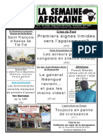 la semaine africaine n°3740