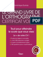 PDF CERTIFICATION EN ORTHOGRAPHE