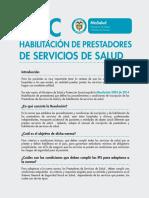 ABC Habilitacion Prestadores