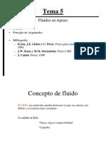 Tema 5 Fluidos en Reposo 130917