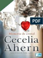 Ahern, Cecilia - Memoria de Cristal