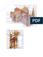 Iglesia Gotica Para Rellenar Partes