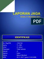 Laporan Jaga TB Paru