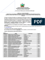 Edital n 10 2017 Sead See Resultado Final Da Prova Objetiva e Convoca o Para a Entrega Dos t Tulos