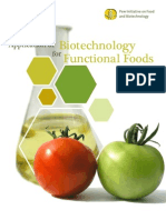 Application of Biotechnology for Functional Foods (2007) 78p R20090718A