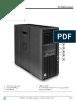 HP z400 Workstation - DataSheet (2011 06-Jun) | Computer
