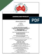 QLD Pricelist October 2017 - RETAIL