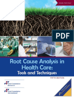 Root Cause Analysis in Health Care