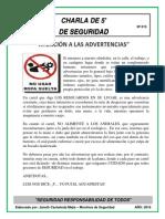 013-Atención a Las Advertencias
