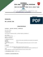 Fisa Post Asistent Med Generalist