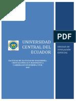 FICFM Civil Unidad de Titulacion Especial Ing. Civil