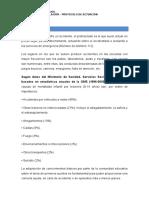 Tema 1- Legislación - Protocolo de Actuación