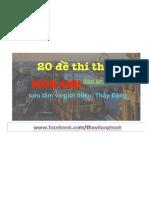 [Fb-thaydangtoan]20 de Thi Thu Mon Anh - Dap an Chi Tiet 2017