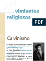 Movimientos Religiosos.