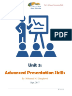 unit 3- advanced presentation skills 2