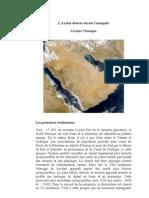 l'Arabie déserte durant l'antiquité  Lecture classique