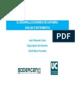 Informe Desarrollo Económico de Cantabria