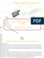 LMS Manual for Students