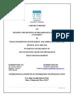 Internship in TDSAT, New Delhi