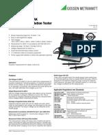 Metri So 5000 a Technical Data